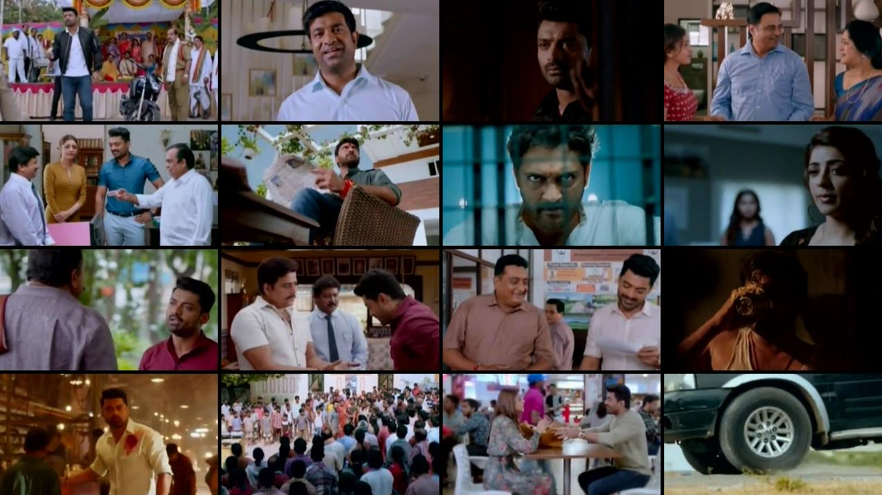 The Four Warriors (2015) Hindi Dubbed