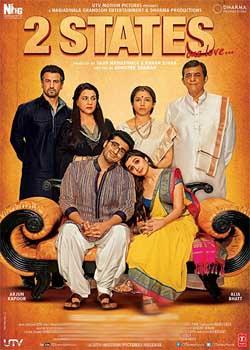 2 States (2014) Hindi