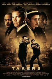 Takers (2010) Hindi Dubbed