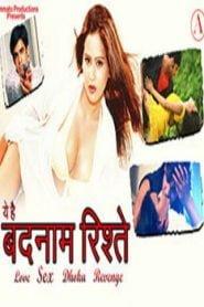 Ye Hai Badnaam Ristey (2015) Hindi